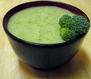 broccoli spirulina soup