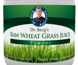 Dr. Berg's Raw Wheat Grass Juice Powder