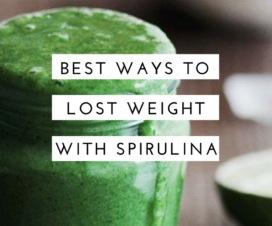 lose weight with spirulina