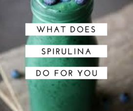 what does spirulina do for you